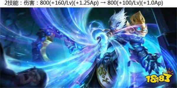 王者荣耀6.23体验服更新 单技能英雄被平衡