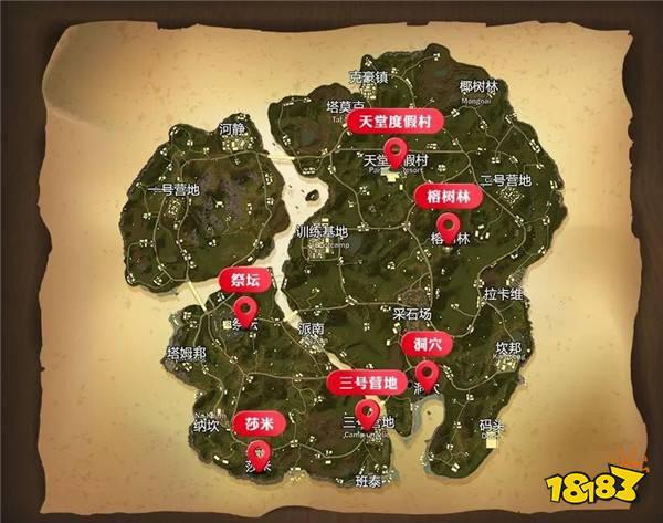 绝地求生全军出击新地图抢先看 萨诺丛林一日游