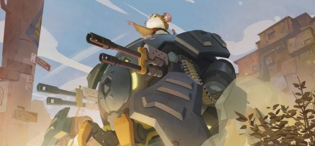 《守望先锋》新英雄哈蒙德公布:竟然是开机甲的仓鼠!