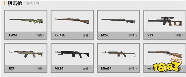 刺激战场什么枪好用 这些枪最适合