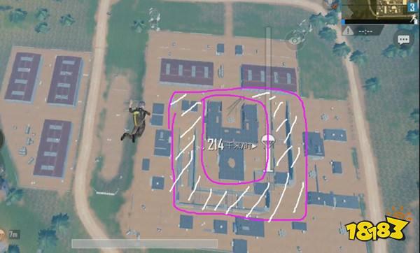 雨林训练基地点位初解 落点及搜索路线分析
