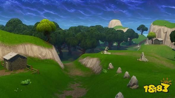 堡垒之夜手游第五赛季地图变化一览