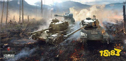 """《坦克世界闪击战》5.2版本C系绝版涂装上线 新地图""""浮士德""""曝光"""