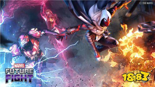 全新超级英雄迎战《MARVEL未来之战》漫画事件《无限变相》首次于游戏中亮相