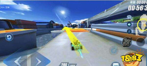 QQ飛車手游洛杉磯賽道怎么玩 賽道點對點技巧分享
