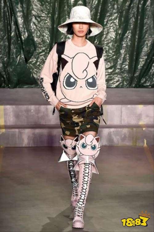 进军时尚界?宝可梦登上米兰时装周秀台