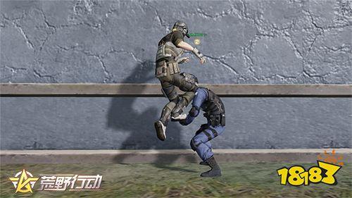 合作综艺打响最后一役 荒野行动解锁双人上墙姿势