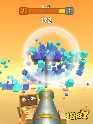 《Knock Balls》让你在游戏里尽情地释放破坏欲!
