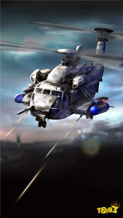 红警OL手游夜鹰直升机怎么样 夜鹰直升机介绍