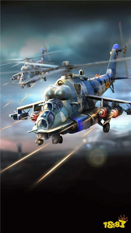 红警OL手游雌鹿直升机怎么样 雌鹿直升机介绍