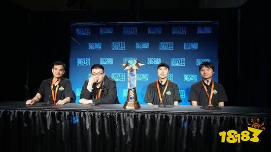 炉石传说世界杯冠军中国队媒体专访