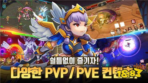 英雄收集型RPG《Novice Heroes》韩国即将登场 事前预约正式启动