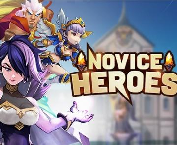 收集型《Novice Heroes》预约开启