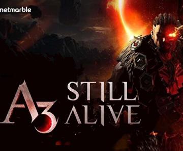 网石公布手游《A3: STILL ALIVE》
