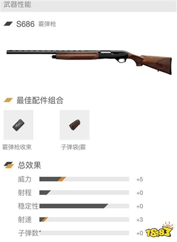 和平精英霰弹枪全解析:近战霸主 一枪一个
