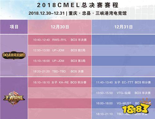 重庆忠县群英聚,三峡港湾把剑亮——2018CMEL总决赛战队巡礼