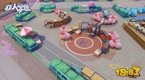《非人学园》4.12安卓二测开启 新地图新英雄即将来袭