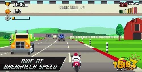 像素赛车手游《复古高速公路》即将发售