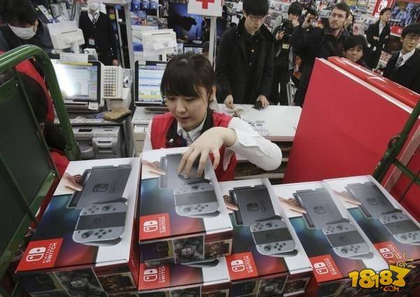 任天堂用Switch成功带动了日本家用游戏市场增长
