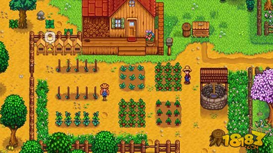 谁说只有城里人会玩?美国农场主边种地边玩《星露谷物语》