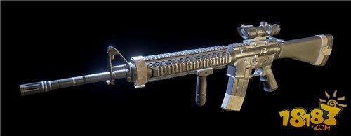 新手神器了解一下 小米枪战步枪M16A4全解析