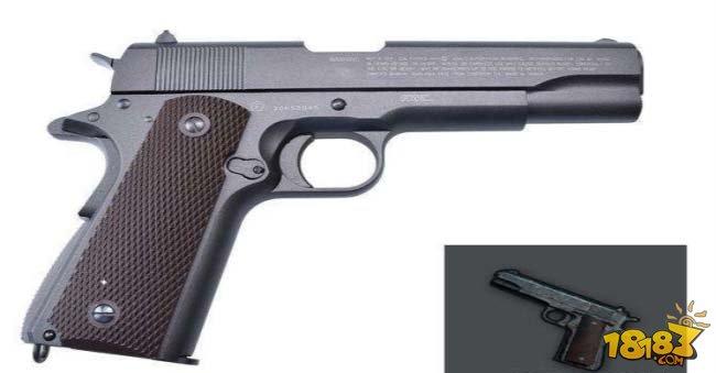 全军出击手枪的前世今生 不要小看手枪的威力