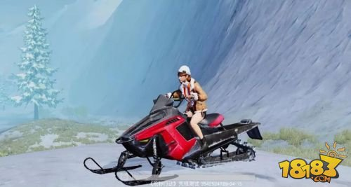 飓风突击新载具雪地摩托驰骋雪域 如履平地