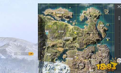 """荒野行動(Knives Out)新地圖這些地方比""""西港""""還肥!"""