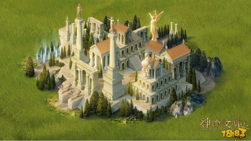 建筑自由布局!网易《神谕文明》策略新玩法!