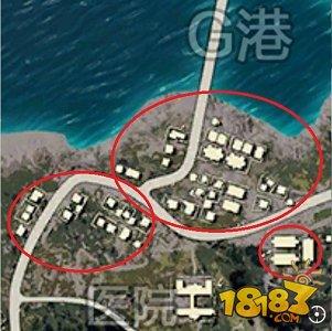 绝地求生全军出击 G港下城区出击路线指南
