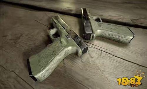 绝地求生全军出击武器 手枪中的战斗机P18C