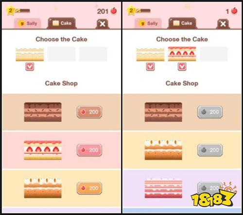避开冰块陷阱 《Sally's Cake》看谁蛋糕堆得高