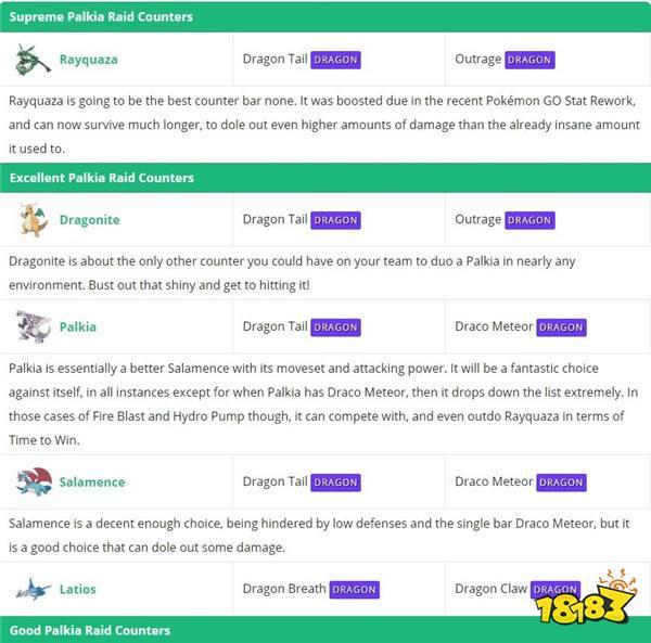 《Pokemon GO》传说精灵「帕路奇亚」降临团体战