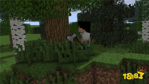 我的世界前期如何合理利用资源 要致富先撸树