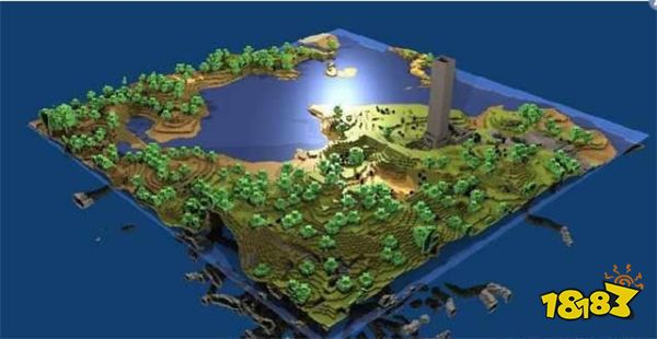 我的世界十年间的趣事盘点 MC地图是地球的八倍