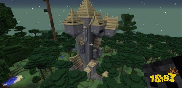 我的世界暮色森林揭秘 荆棘城堡守护神居然在云上