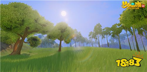美轮美奂 精益求精,《梦幻西游3D》手游场景全面迭代公开!