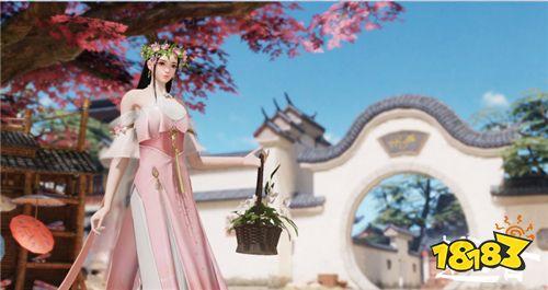 小仙女的花环 《楚留香》春日系列时装家具全面上新