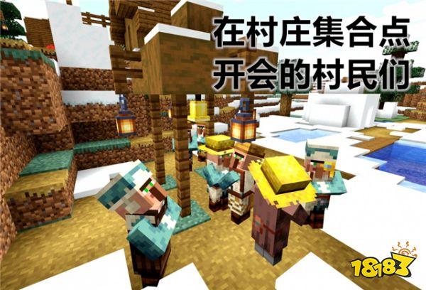 我的世界新版本村庄大改 带你了解全新的村民