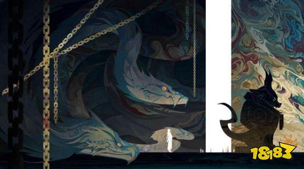 阴阳师八岐大蛇系列故事绘卷 大蛇的设定完善