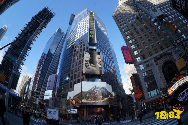 《征途2手游》宣传片登陆纽约时代广场 兵马俑+国战引领国潮风
