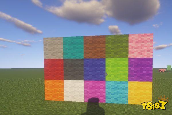 我的世界最奢侈建筑方块 各种颜色太美丽