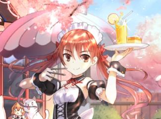 《电击文库:零境交错》樱花季版本评测:在落樱缤纷的女仆咖啡厅邂逅