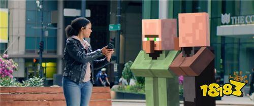 方块世界降临现实 微软发布《Minecraft》手机AR版预告
