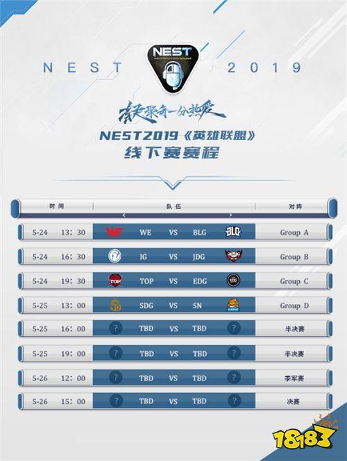 NEST2019《英雄联盟》夏季总决赛蓄势待发,豪强战队闪耀贵阳