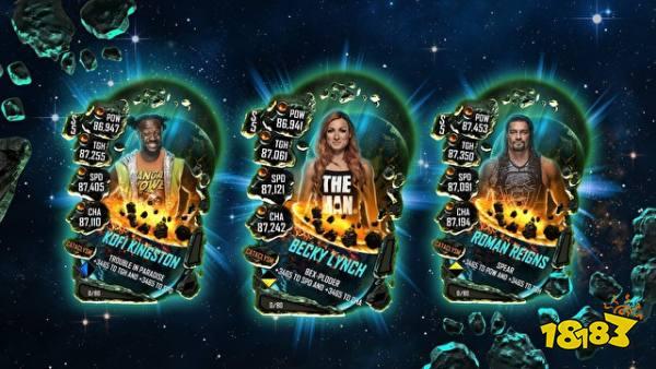 "《WWE SuperCard》中即将推出新等级""灾变"""
