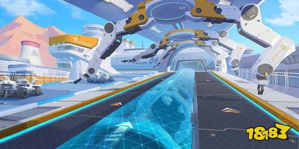 QQ飛車手游TROY-零號試驗場賽道 高能路段解析