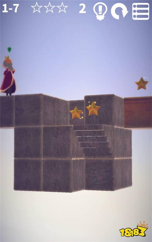益智游戏《方块花园》 用三维立体的思考逻辑找出完美答案