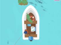 休闲小游戏《我叫钓鱼侠》通过钓鱼获得收入强化能力