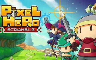 像素英雄与你守塔《PixelHeroScramble》事前登录开始